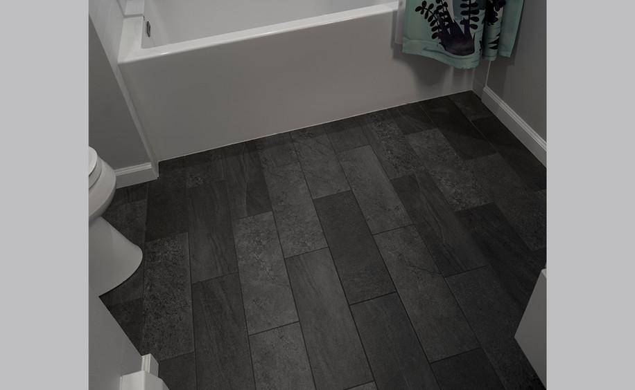 Bathroom Remodel     Flooring Detail