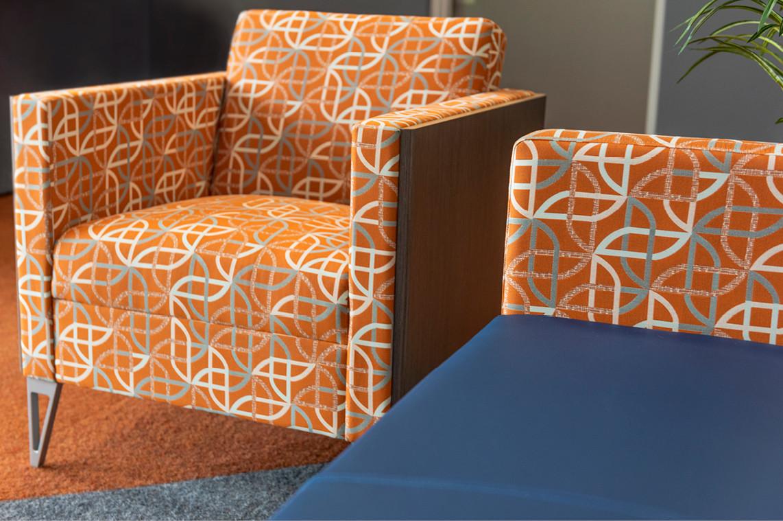 Incredible Bank -Wausau Branch Remodel     Lobby Seating