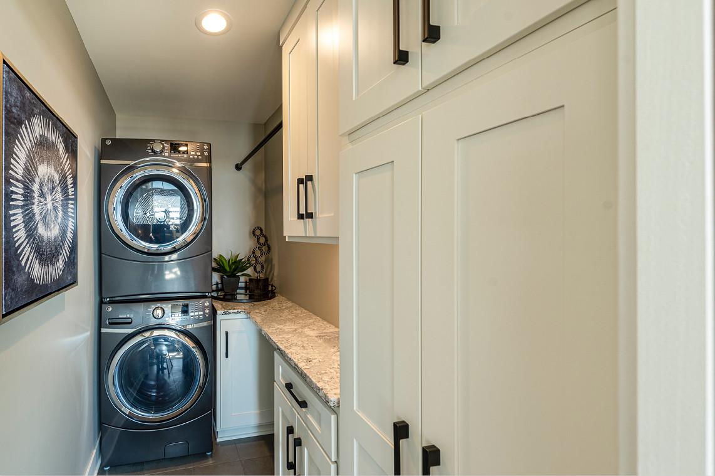 New Construction  |  Condo  |  Laundry Room