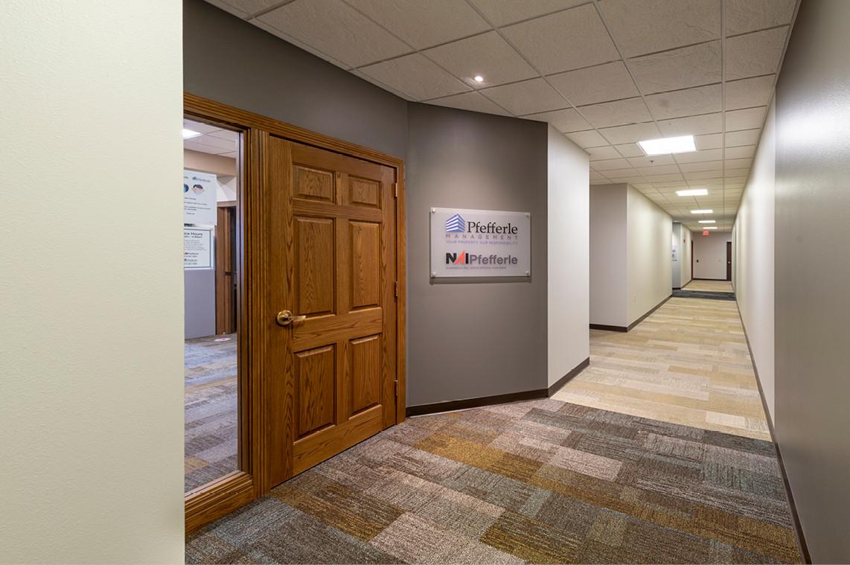 Multi-tenant Building Hallway - Flooring Detail