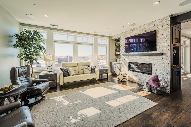 New Construction  |  Condo  |  Living Area