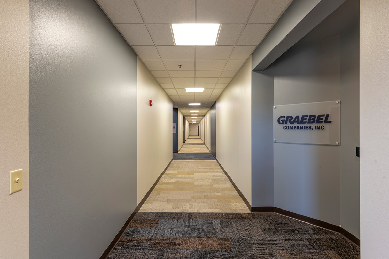 Multi-tenant Building Hallway