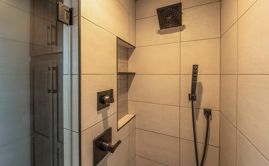 New Construction  |  Condo  |  Shower Detail