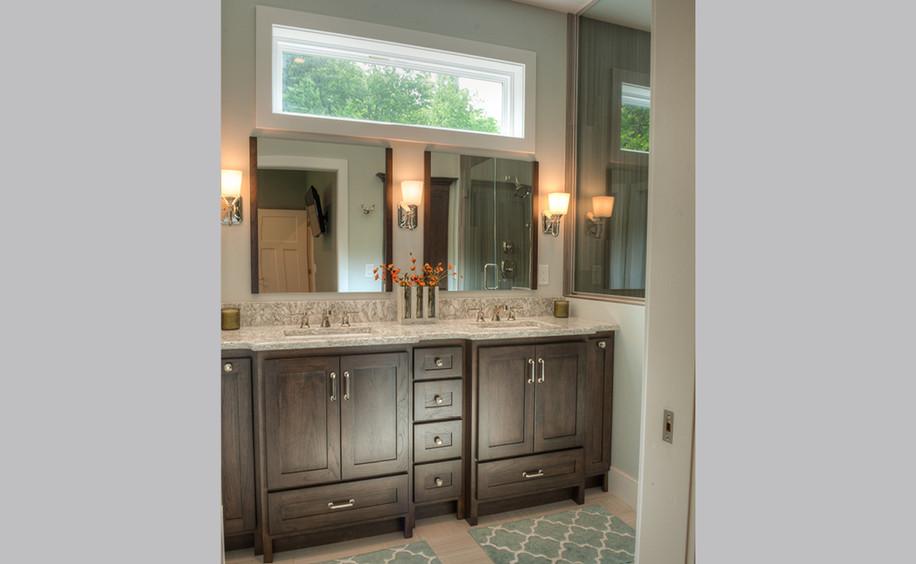 New Construction     Master Bathroom