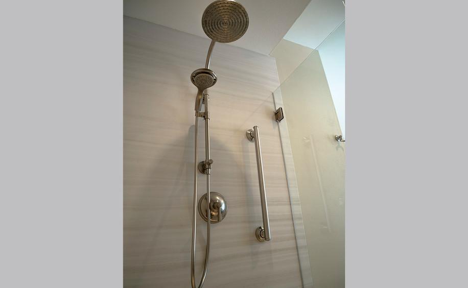 Bathroom Remodel     Shower Hardware
