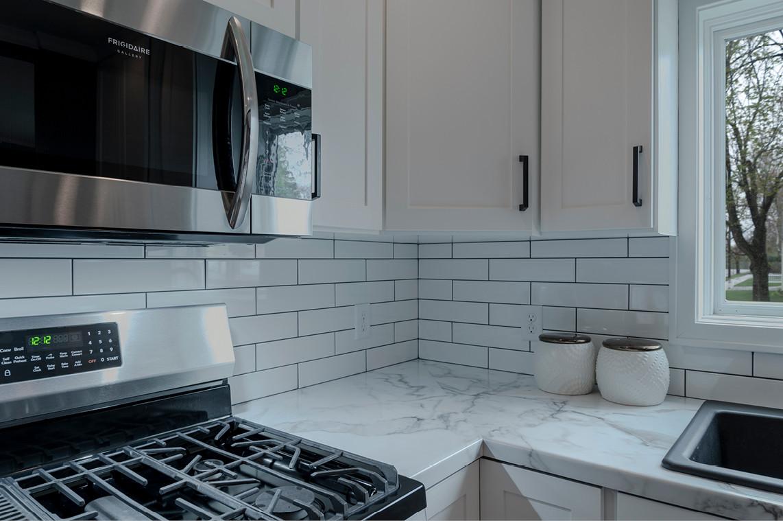 Kitchen & Dining Remodel  |  Subway Tile