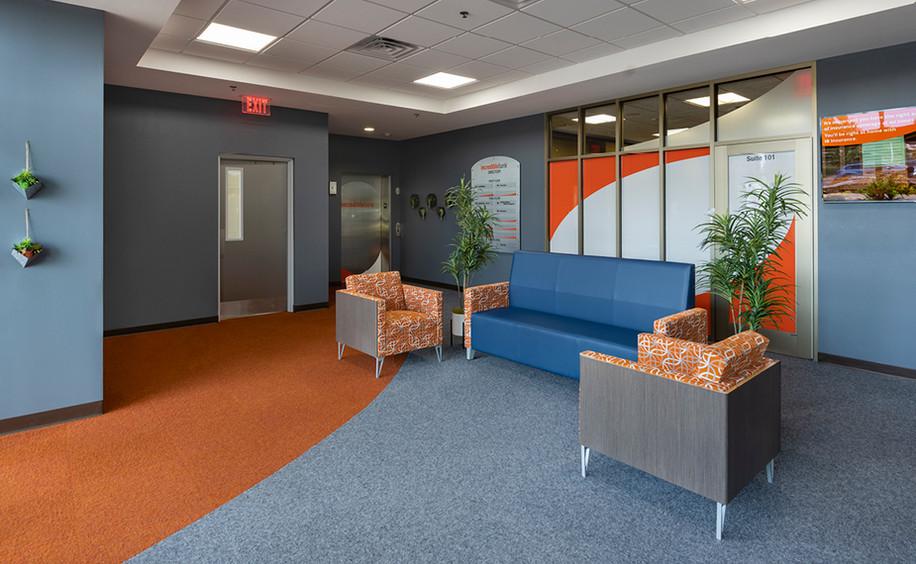 Incredible Bank -Wausau Branch Remodel     Lobby