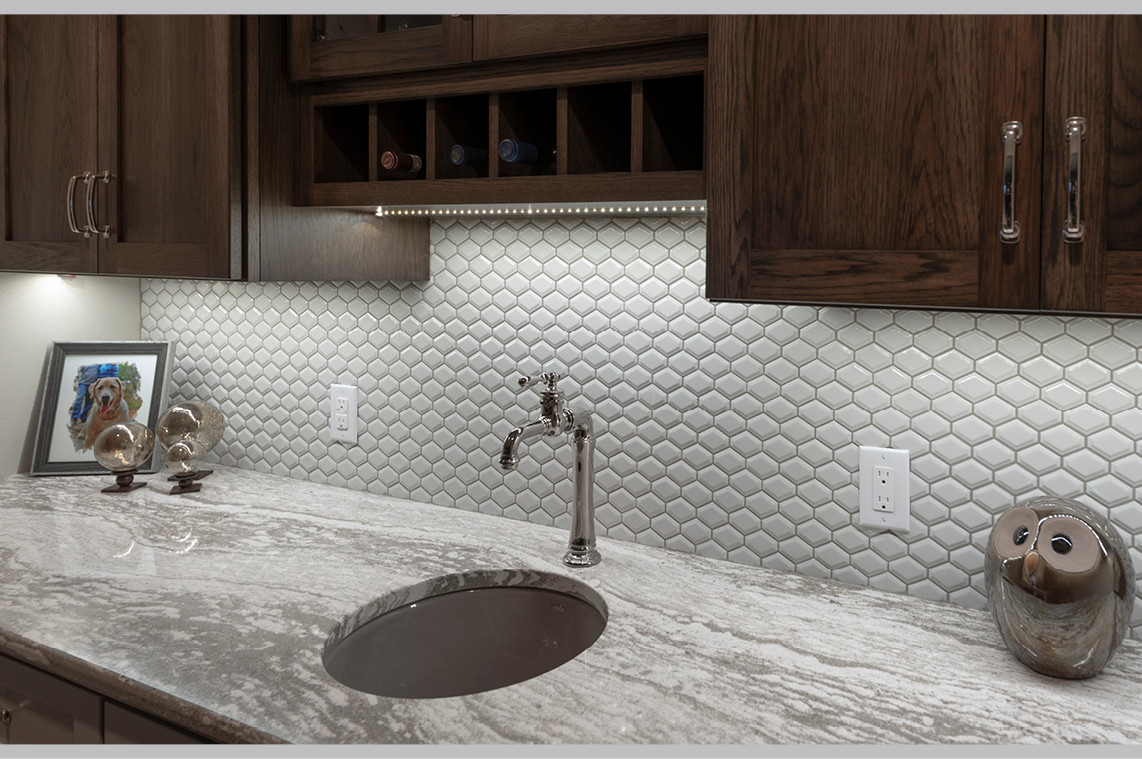 New Construction  |  Ceramic Bar Tile