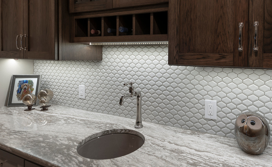 New Construction     Ceramic Bar Tile