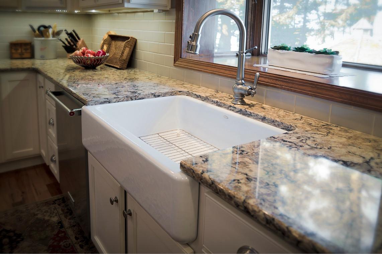 Kitchen Remodel  |  Farmhouse Sink