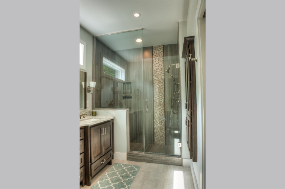 New Construction  |  Master Bathroom  |  Shower