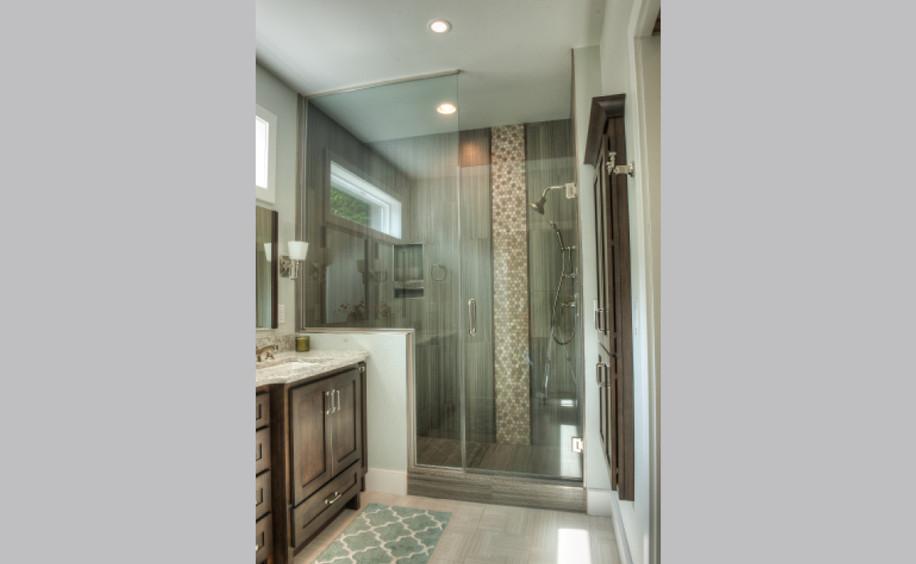 New Construction     Master Bathroom     Shower