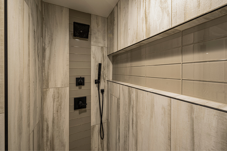 New Construction  |  Condo  |  Master Bathroom Shower Detail
