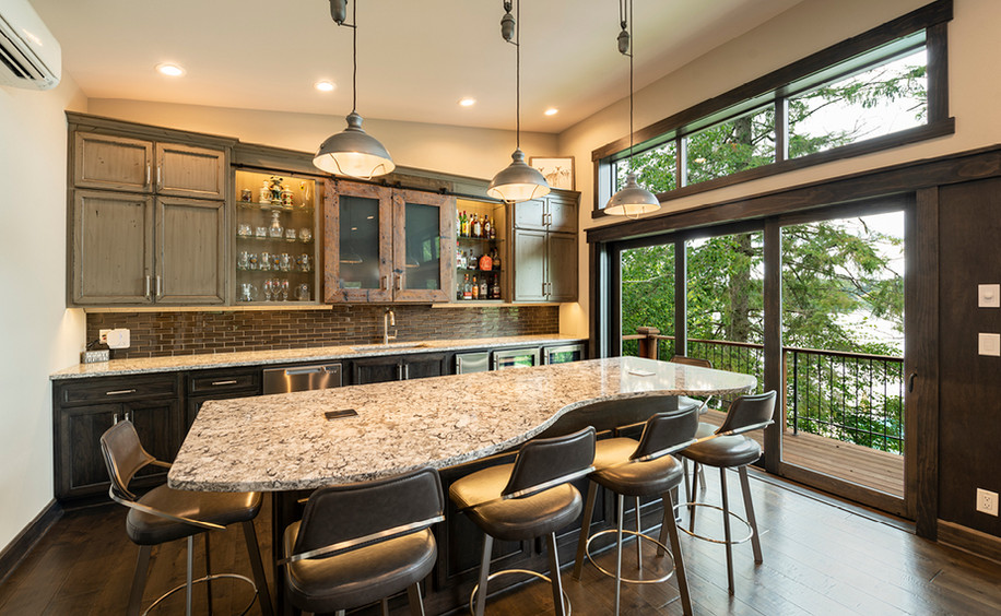 Upper Floor Bar