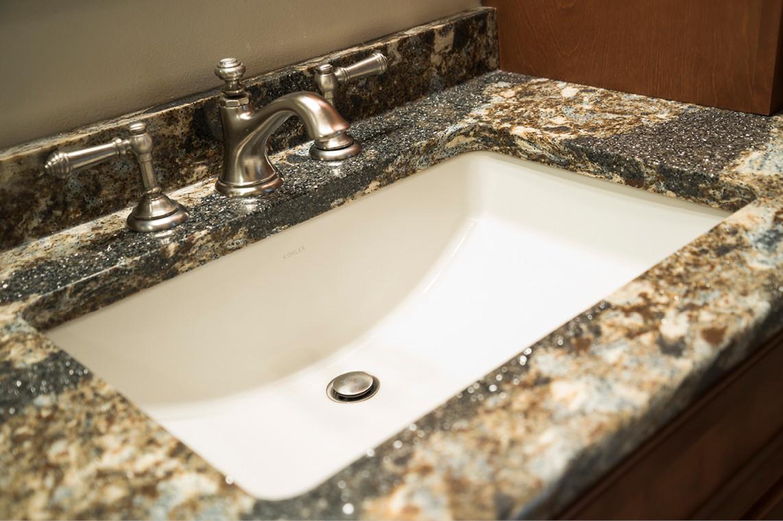 Bathroom Remodel  |  Sink Detail