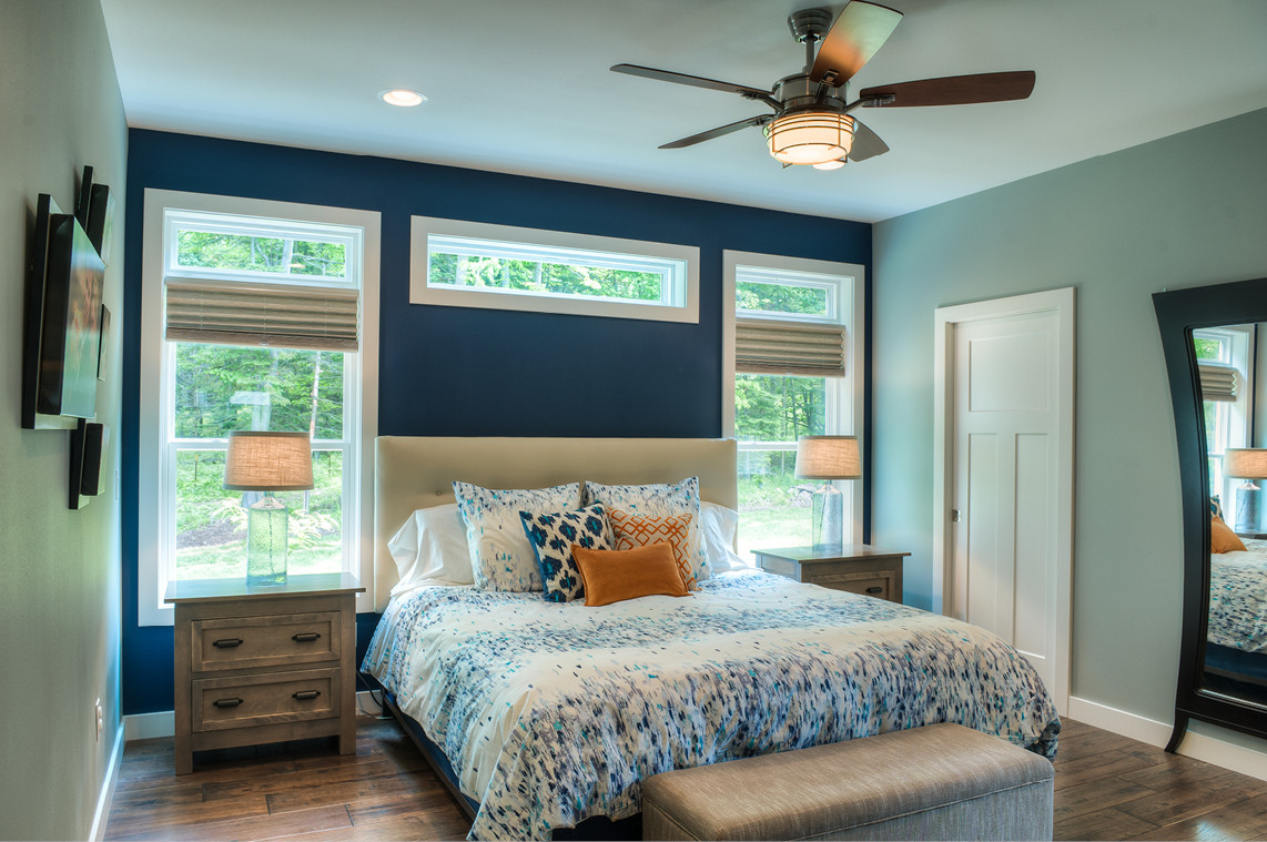 New Construction  |  Master Bedroom