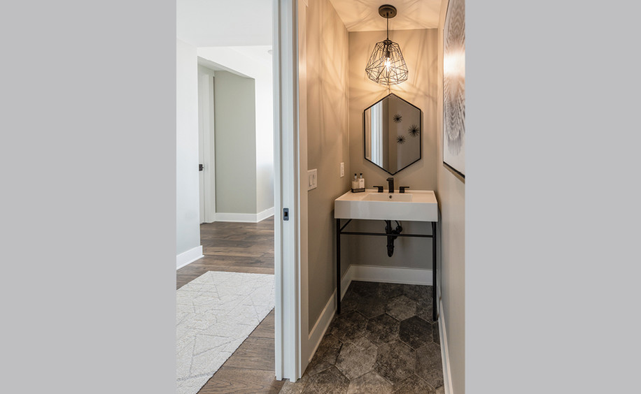 New Construction  |  Condo  |  Powder Room