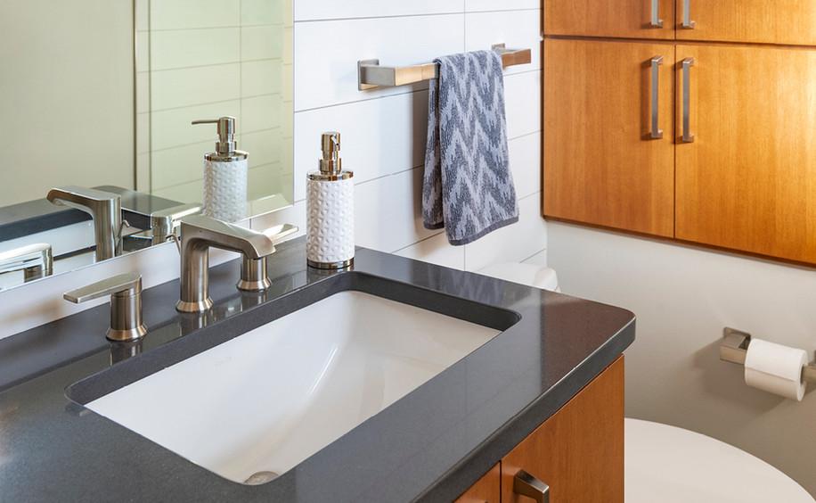 Bathroom Renovation | Sink & Faucet Detail
