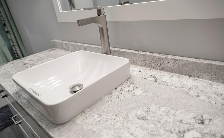Bathroom Remodel     Sink & Counter Detail