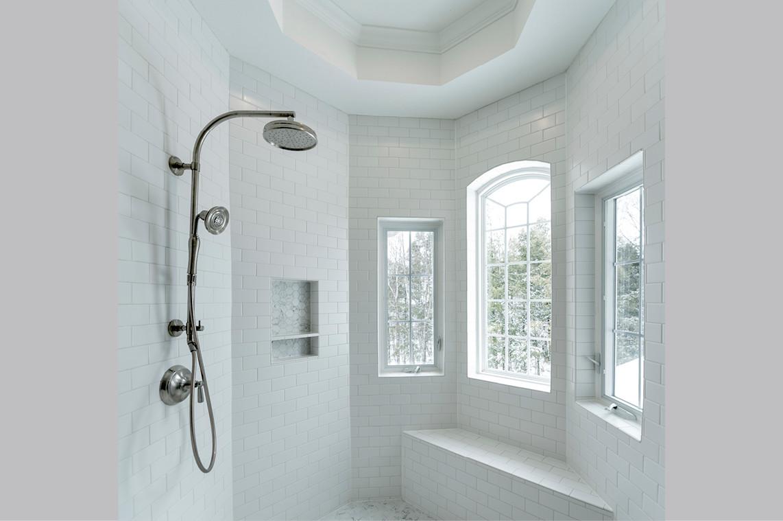 Bathroom Remodel     Shower Detail