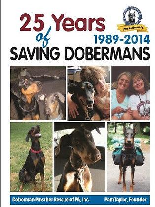 25 Years of Saving Dobermans Book
