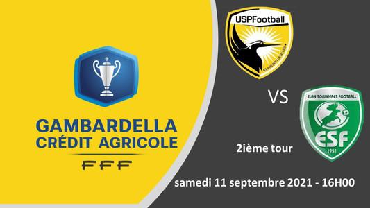 2ième tour de Gambardella, L'USPF reçoit L'Elan Sorinières Football