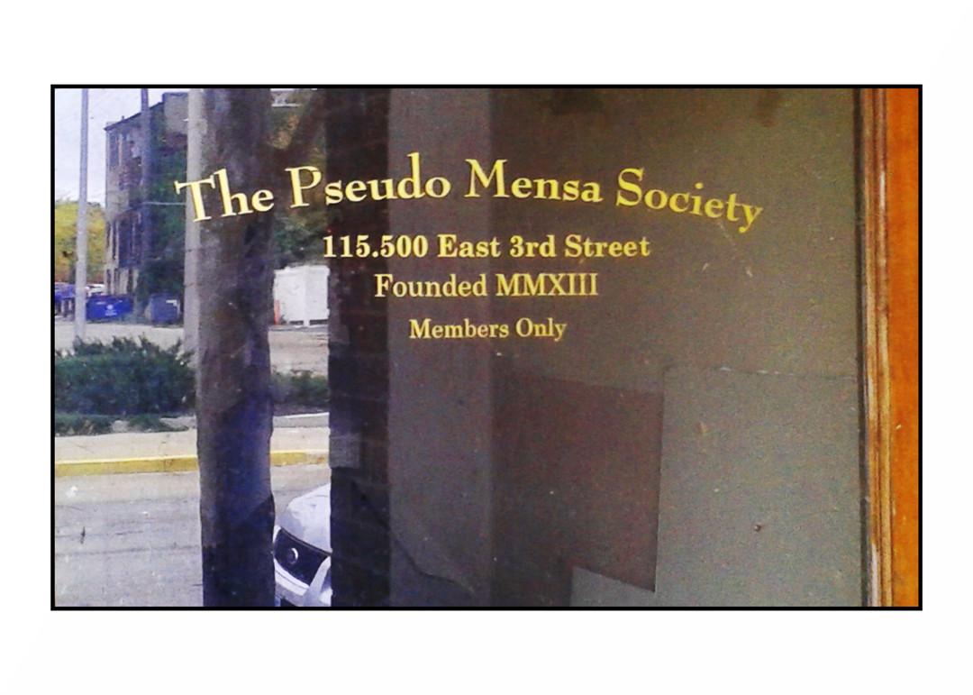 Pseudo Mensa Society