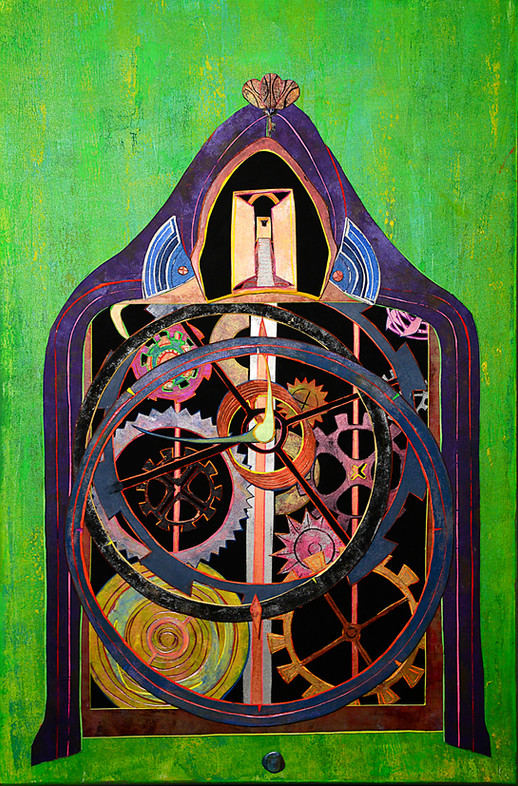 Infinity Coocoo Clock 24x36