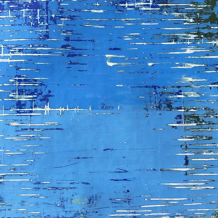 Rising Blue Water