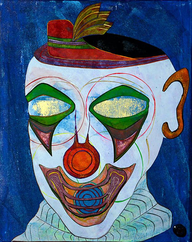 Dream Clown 16x20
