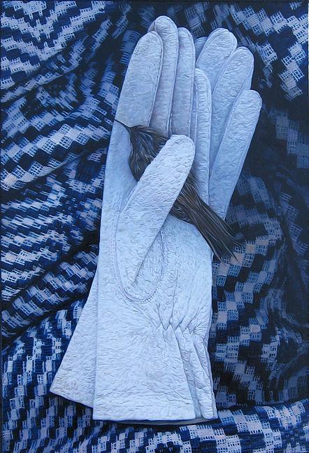 Blanket bird gloves x 2. 11.8.5.2008 .jp