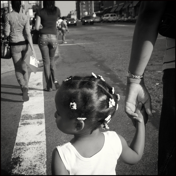 """Brooklyn, """"Holding your Hand""""  From the series """"Urban Street Portraits"""""""