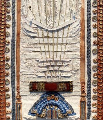 Arches in Magenta - detail