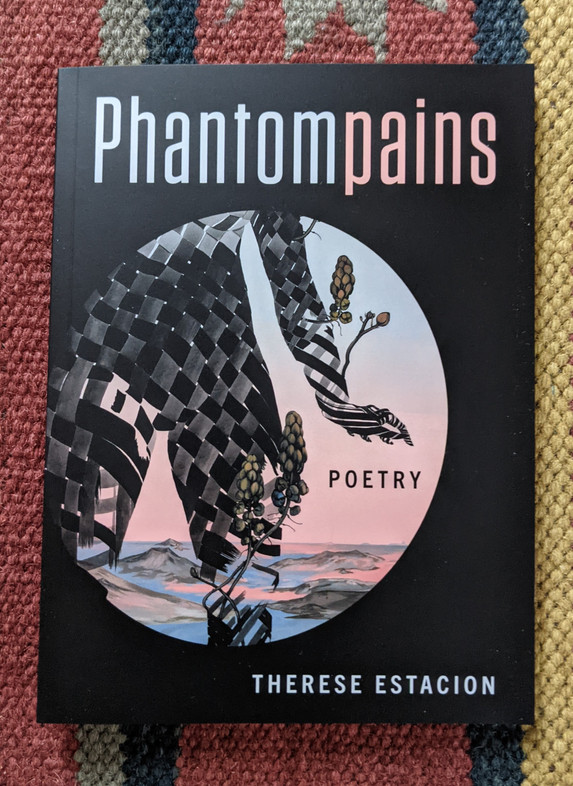 Therese Estacion survived a rare infection that nearly killed her, but not without losing both her legs below the knees, several fingers, and reproductive organs. Phantompains explores disability, grief, and life. https://bookhugpress.ca/shop/books/new-books/phantompains-by-therese-estacion/