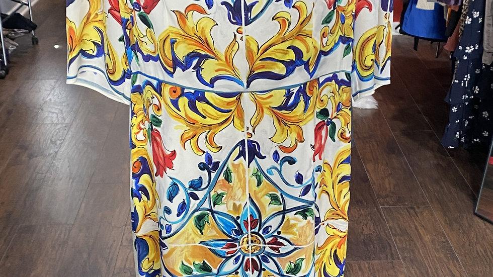 Dolce & Gabbana Majolica Dress