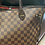 Thumbnail: Louis Vuitton Damier Ebene Neverfull MM with Pouch