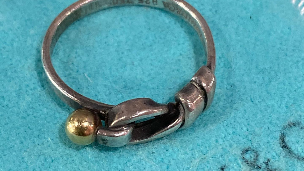 Tiffany & Co Hook & Eye Ring