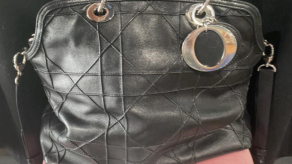 Chrisitan Dior Cannage Granville Bag