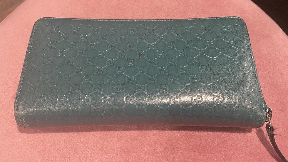 Gucci Monogram Zippy Wallet