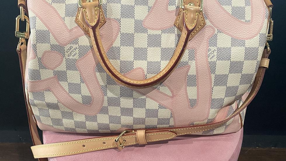 Louis Vuitton Bandouliere Azur Speedy