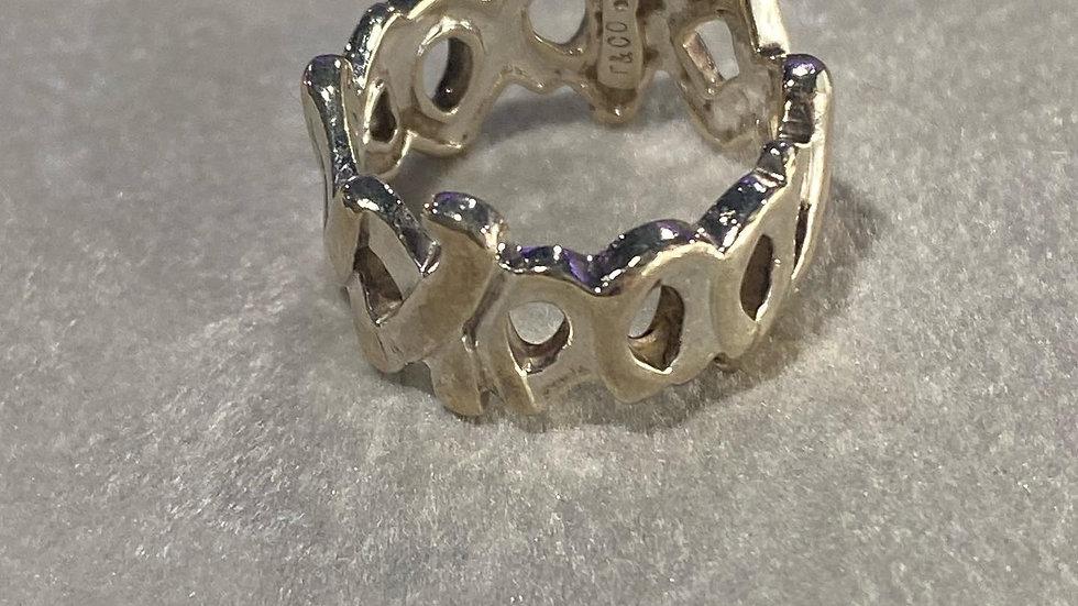 Tiffany & Co XXXOO Ring