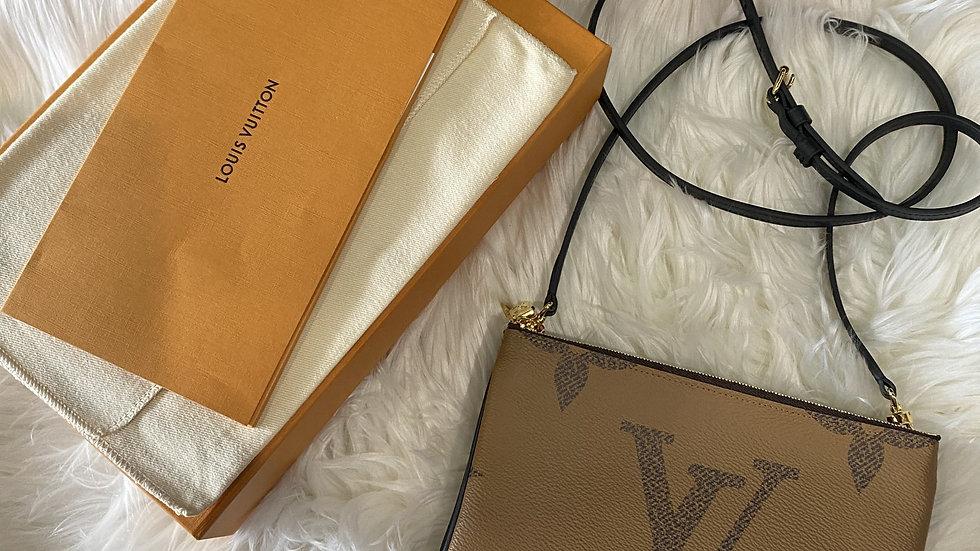 Louis Vuitton Double Zip Pouchette