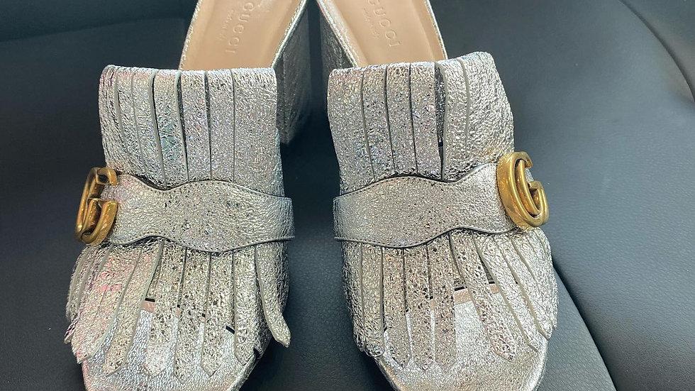 Gucci Marmot Kittie Sandals