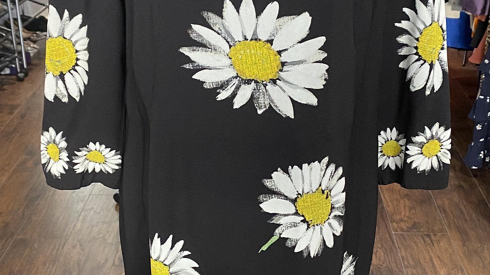 Dolce & Gabbana Daisy Silk Dress