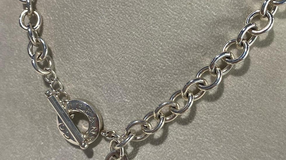 Tiffany & Co Heart Toggle Heart Necklace