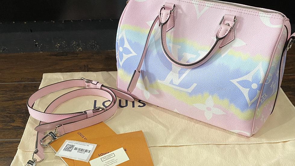 Louis Vuitton Giant Canvas Escale Speedy Bandouliere 30