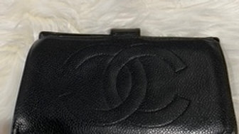 Chanel Vintage Caviar Leather Wallet