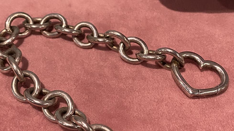 Tiffany & Co Open Heart Clasp Bracelet