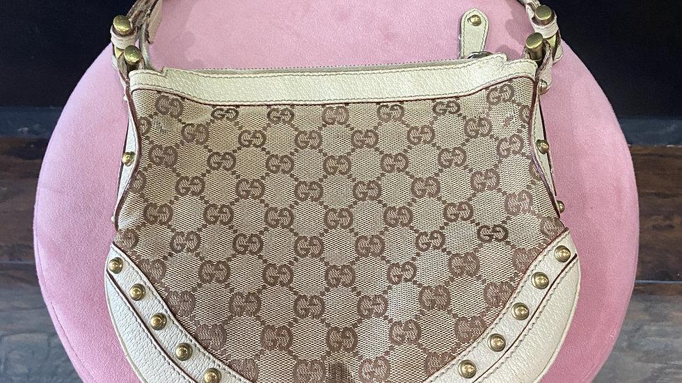 Gucci Pelham Studded Handbag