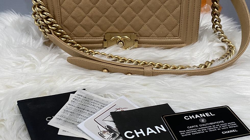 Chanel Medium Boy Flap Bag